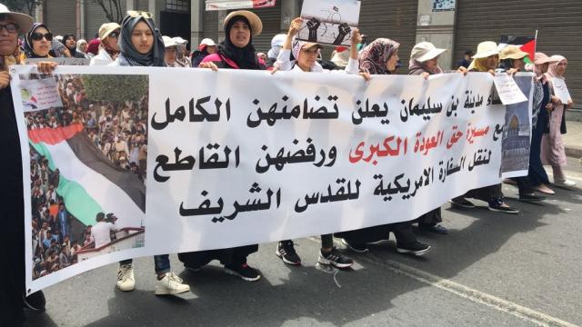 Marche en faveur de la Palestine-5