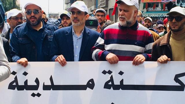 Marche en faveur de la Palestine-2