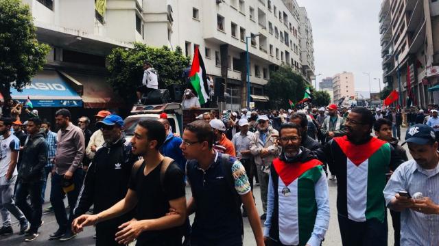 Marche en faveur de la Palestine-10