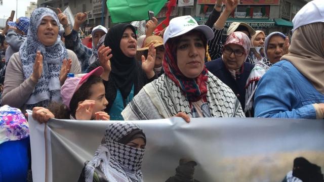 Marche en faveur de la Palestine-9