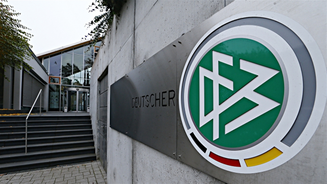 logo fédération allemande de foot