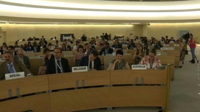 38e session du Conseil des droits de l'Homme de l'ONU