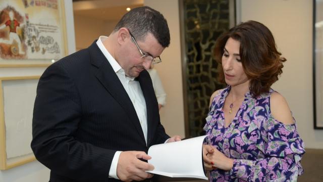 Omar Alami et Nadia Amor
