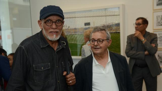 elkébir Rabi' et Lucien Amiel