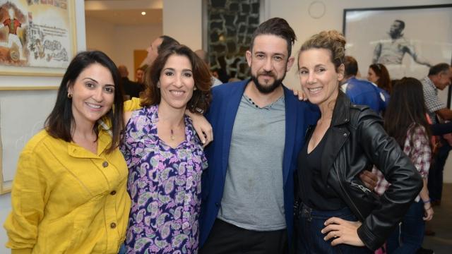 Samia Ouazzani, Nadia Amor, Zakaria Ramhani et Meryem Sebti