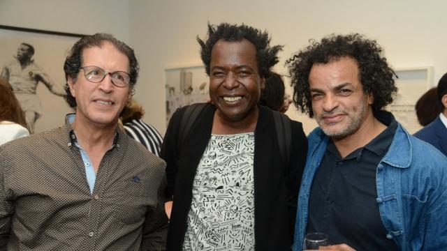 M'barek Bouhchichi et Mohamed Fariji