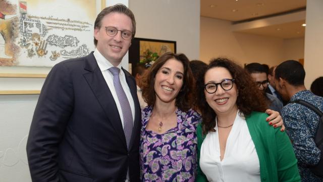 Adil Jabri, Nadia Amor et Meriem Naji