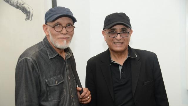 Abdelkébir Rabi' et Azdine Hachimi Idrissi