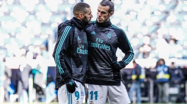 Benzema et Bale