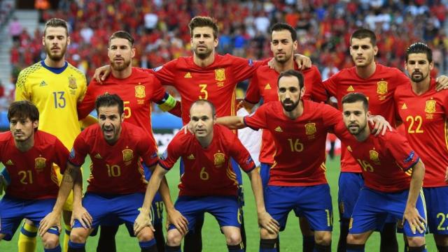 Espagne team