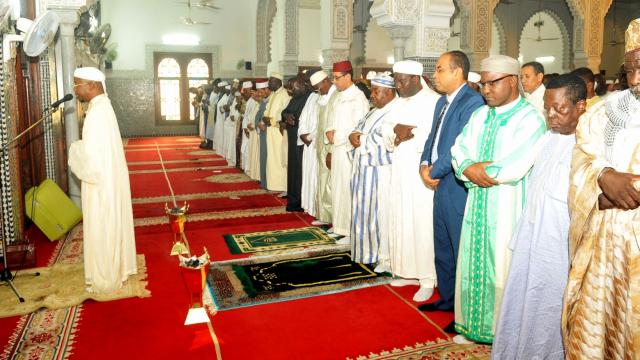 Gabon. Ramadan: la mosquée Hassan II point de ralliement des musulmans de Libreville
