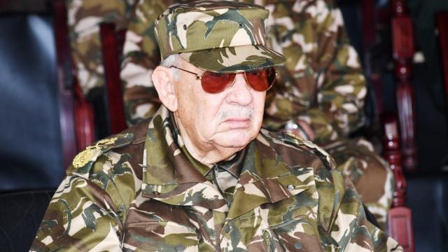Le général Ahmed Gaïd Salah, chef de l'Etat major de l'armée algérienne.
