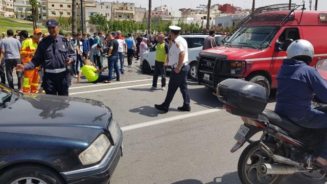 Grave accident à Tanger-2