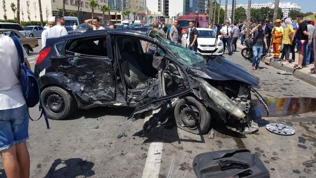 Grave accident à Tanger-6