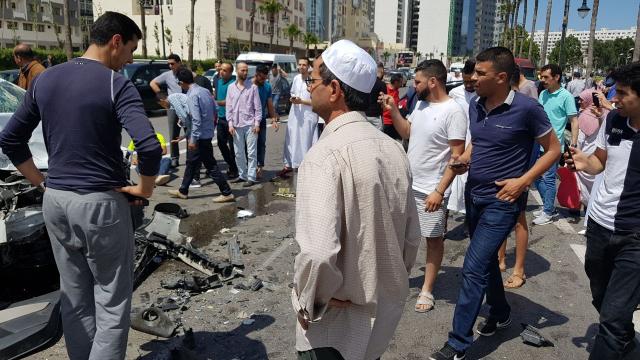 Grave accident à Tanger-8