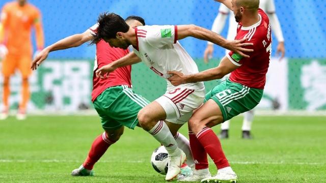 Maroc-Iran lutte