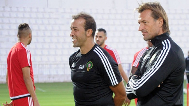 Mustapha Hadji et Renard