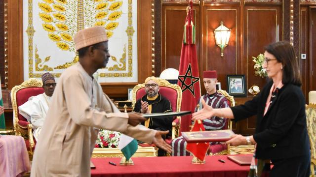 Gazoduc Roi Mohammed VI Buhari Maroc Nigeria