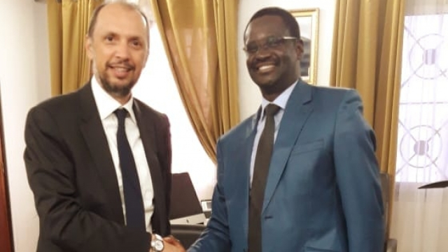 Mohcine Jazouli à Dakar