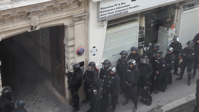 Prise d'otages Paris