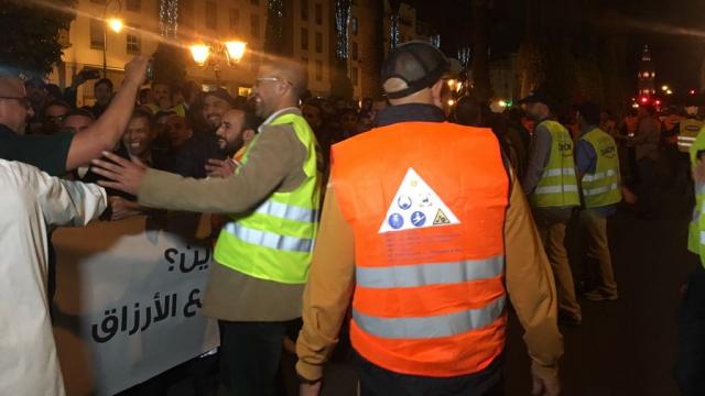 Sit-in salariés de Danone-9
