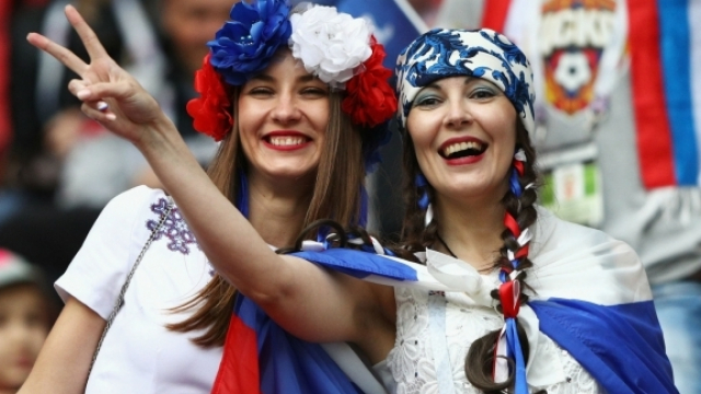 supportrices russes
