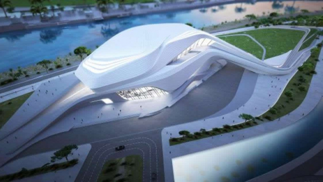 Projet Grand théâtre de Rabat