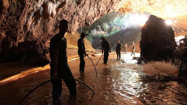 Thaïlande sauvetage enfants grotte