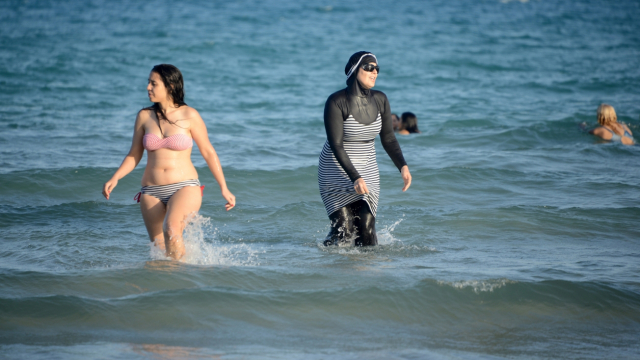 bikini et burkini
