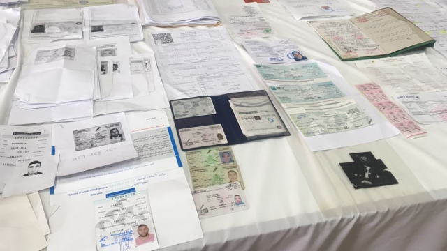 BCIJ Saisie matériel de  falsification-13