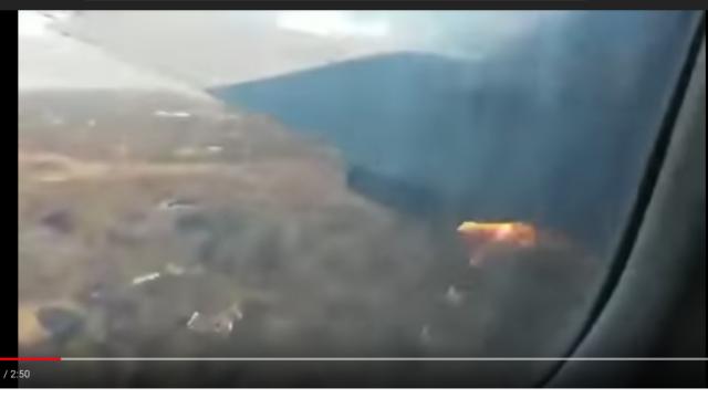 Vidéo. Afrique du Sud: le crash de l'avion a été filmé de l'intérieur