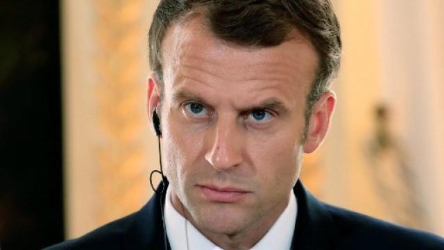 Emmanuel Macron, benalla