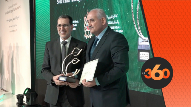 cover Video - Le360.ma • الكرواني يفوز بالدورة الثانية عشر لجائزة الحسن الثاني للبيئة