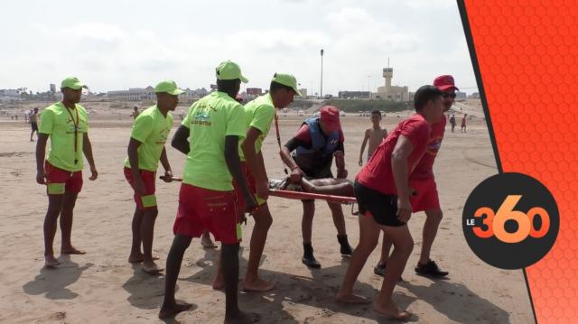 Cover Vidéo - هكذا يسهر رجال الإنقاذ من أجل حماية المواطنين من شبح الغرق