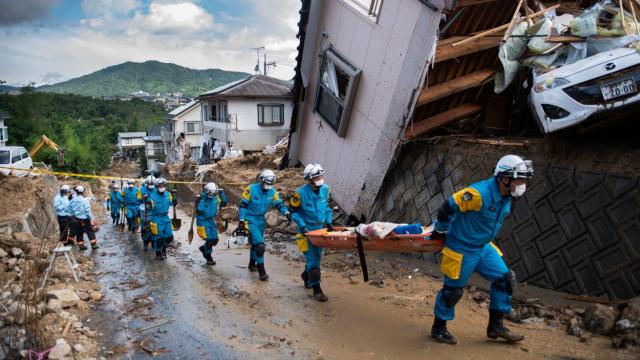 Japon inondations