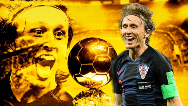 Modric Ballon d'or?