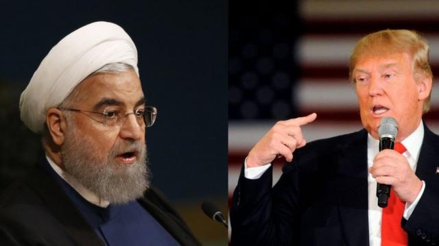 Hassan Rohani et Donald Trump