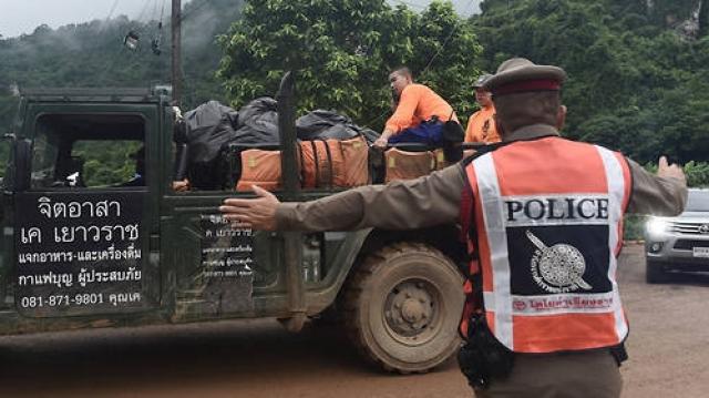 Sauveteurs Thaîïande