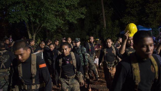 Soldats thaïlandais