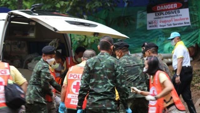 Thaïlande, sauveteurs