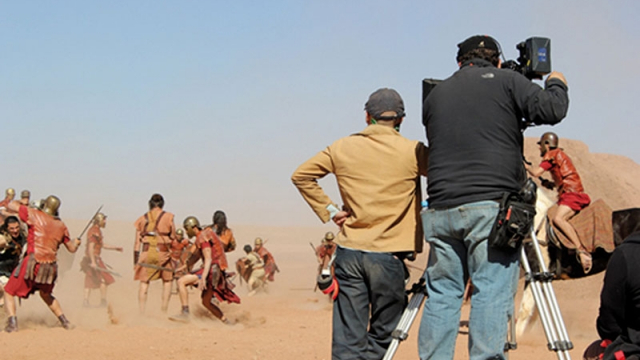 Tournage à Ouarzazate