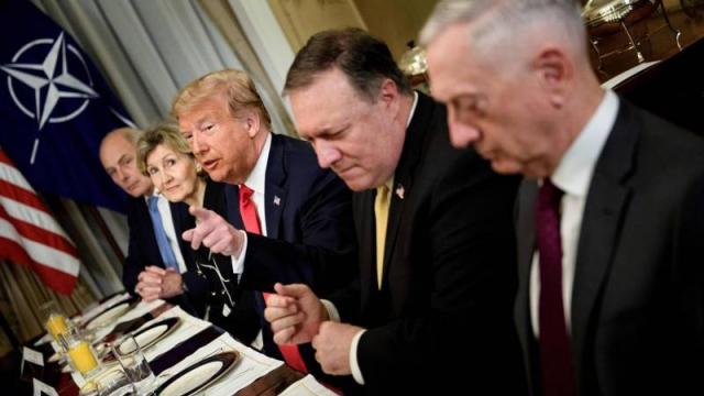 Trump à l'OTAN