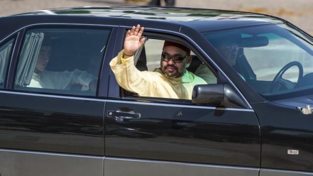 Roi Mohammed VI Fête du Trône