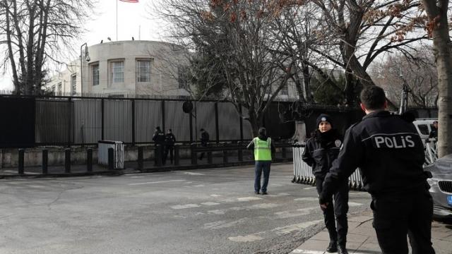 ambassade des Etats Unis