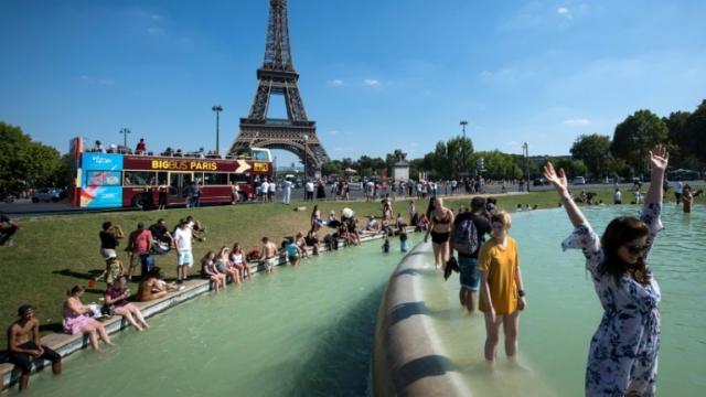 Canicule Paris