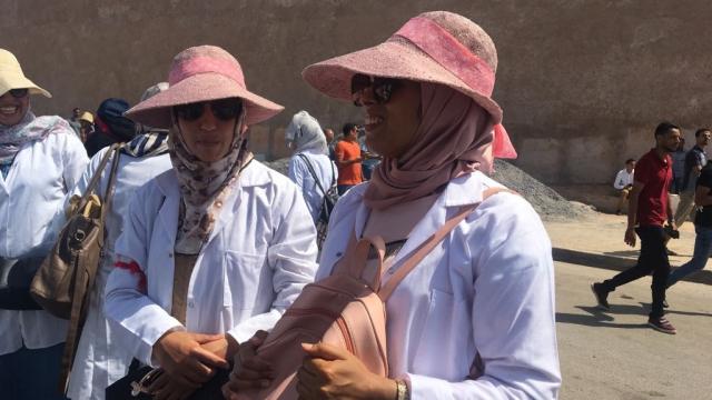 Rabat-Marche des enseignants contractuels-12