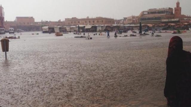 Marrakech-Inondations