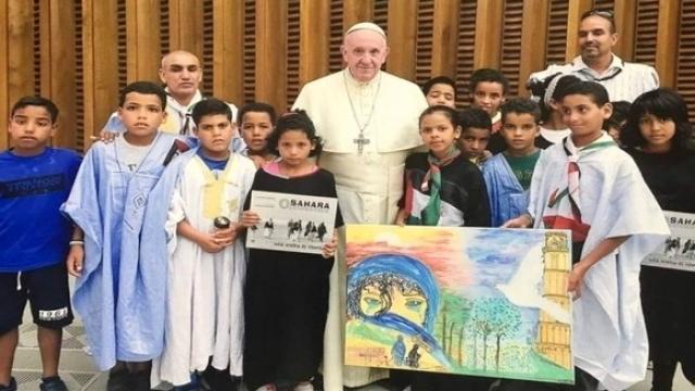 pape-enfants sahraouis