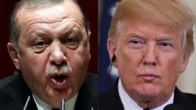 Erdogan et Trump