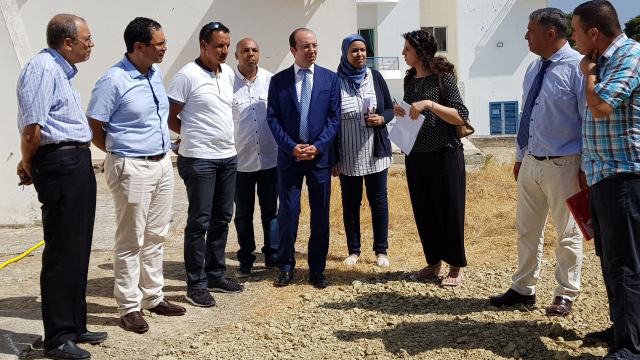 Visite Anas Doukkali hôpital de Tanger-3